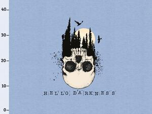 BIO-Jersey, hello darkness XL Panel jeansblau melange by...