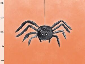Bio-Sommersweat Spinne Panel, happy halloween by Bio-Box