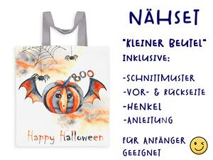 Nähset Tasche happy halloween, Canvas Biobox