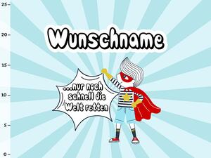 Bio-Jersey WUNSCHNAME Panel super boy, BioBox