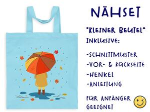 Nähset Tasche rainy day Herbstliebe Canvas by Biobox