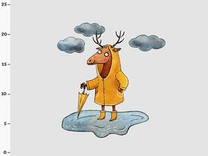 Bio-Sommersweat Schietwetter Hirsch PANEL by BioBox