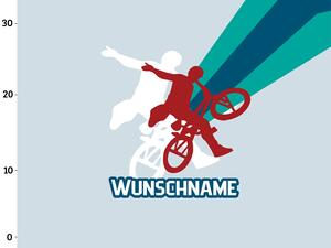 Bio-Jersey WUNSCHNAME Panel, Bmx and Skate, Bike, BioBox