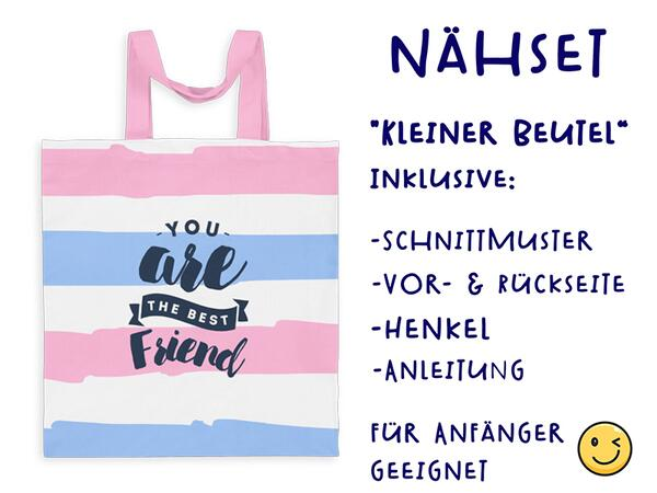 Nähset Tasche You are the best friend, Superfreundin,...