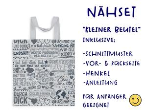 Nähset Tasche SuperFreunde, Canvas Biobox