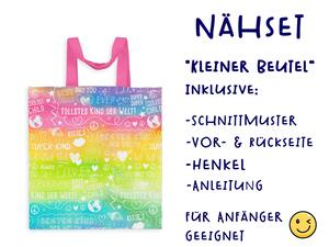 Nähset Tasche SuperKind, Regenbogen, Canvas Biobox
