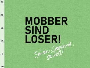 Bio-Jersey, Mobber sind Loser, XL Panel, Anti Mobbing, by...