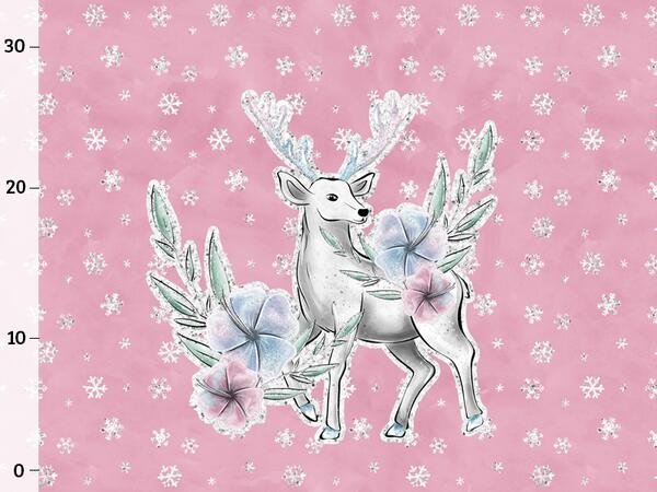Bio-Sommersweat Panel, Lovely Deer, by BioBox