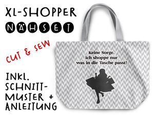 Nähset XL Shopper-Bag Tasche, Shopping, inkl....