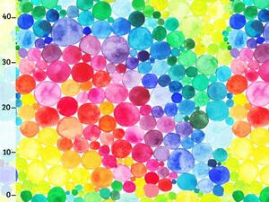Bio-Jersey, rainbow dots, bunte Punkte by BioBox