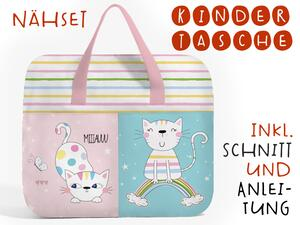 Nähset Hochw. Kindertasche Furry Friends, inkl....