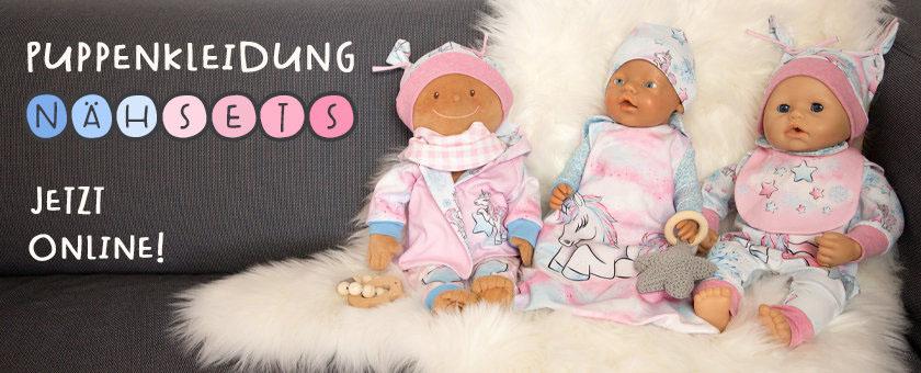 Puppenkleidung im Nähset